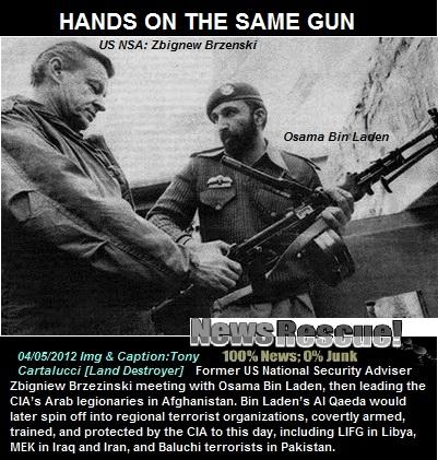 Zbigniew Brzezinski u tenutku objašnjavanja CIA-inog plana za trvaranje Al Kaide i načina na koji će Amerika dobavljati oružje i municiju borcima Osame bin Ladena. Što mislite tko je najveći proizvođač i prodavač oružja na svijetu?