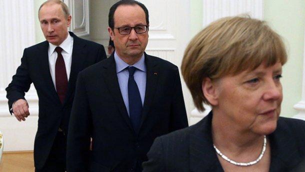 Teško je povjerovati da vjerni američki saveznici poput vrhovnika Francuske i Njemačke daju Putinu poruku koja nije u skladu s Američkim stajalištima.