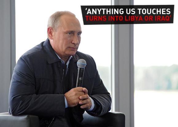 Putinove riječi: