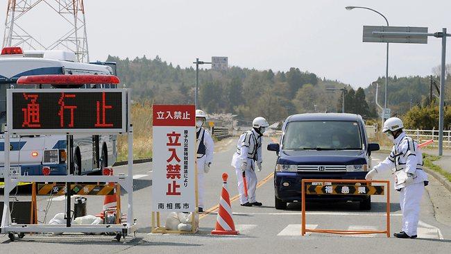Zabranjena zona u krugu od 20 kilometara od Fukushime.