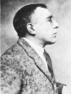 Mladi Osupensky, snimljen neposredno nakon početka Prvog svjetskog rata.