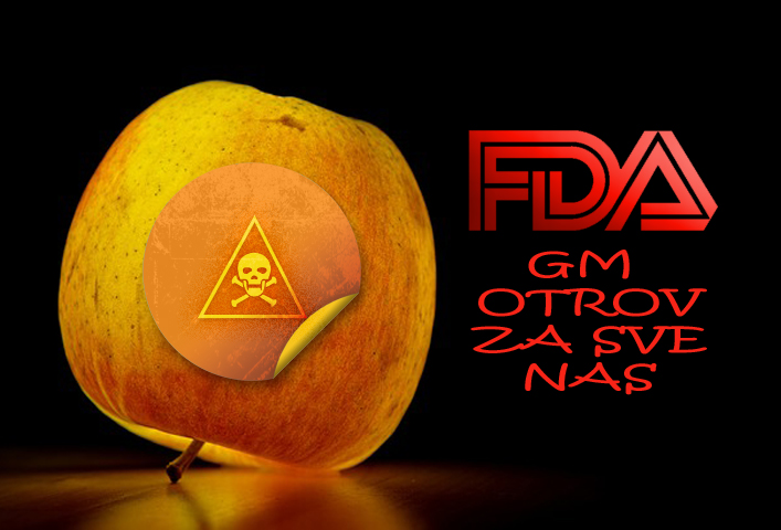 UDARNA VIJEST: Dozvoljena prodaja GM jabuka i krumpira, sljedeće na redu su kruške, breskve, trešnje i banane!