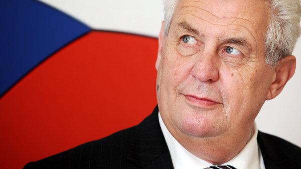 Češki predsjednik MIloš zeman je jedini zapadnjački političar koji se usprotivio direktivama iz Washingtona.