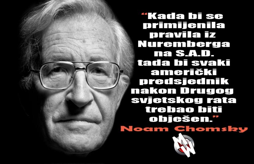 Čini se Noma Chomsky zna što govori kada kritizira današnju američku politiku.