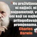 darwin promjene i preživljavanje