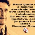 george orwell sreća i laži