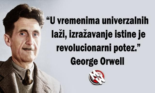 george orwell univerzalne laži i istina | Matrix World