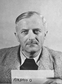 Otto Ambros za vrijeme operacije Paperclip.