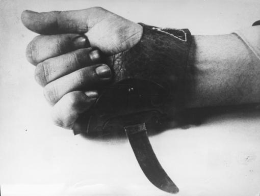 """""""Srbisjek"""" grozni inventar konc-logora Jasenovac kojeg su ustaški zločinci koristili za ubijanje nevinih ljudi."""