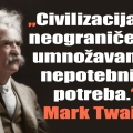 twain civilizacija i potrebe