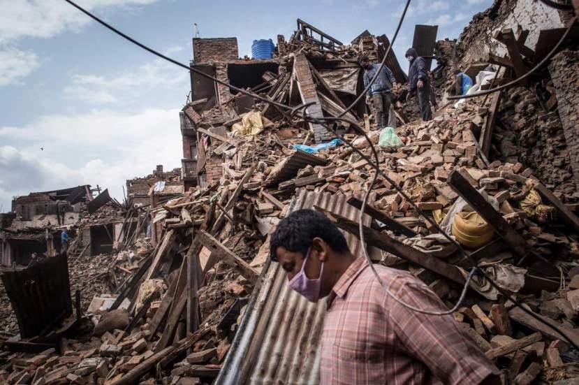 Nepal - uništena zemlja.