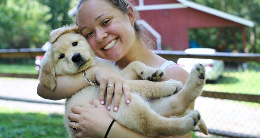 Ljudi mogu voljeti životinje na način da ih prihvate u obitelj, gotovo poput ljudskog člana.