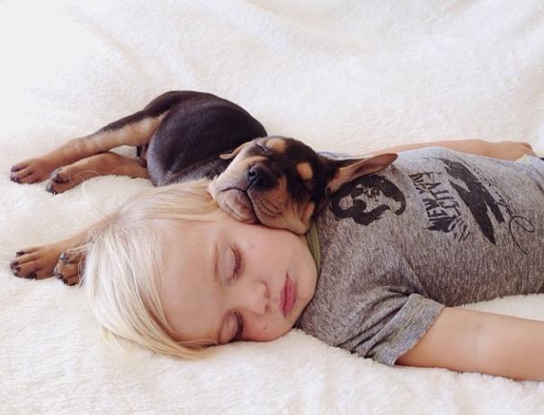 Dječak Beu i njgov pas Teo su možda odličan pokazatelj kako izgleda ljubav među ljudima i životinjama.