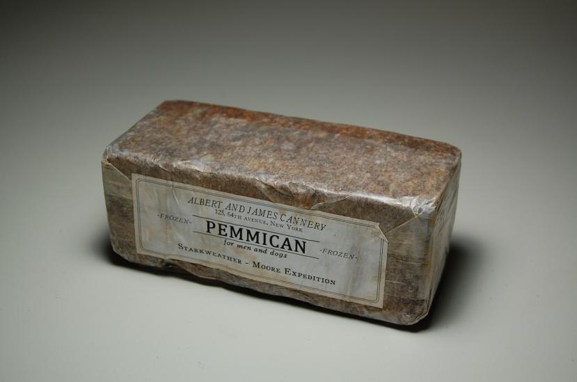 Savršeno očuvan pšemmican iz prošlog milenija, umotan u masni papir i preman za konzumaciju.
