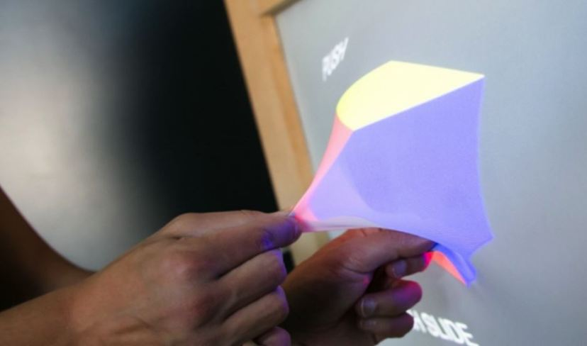 3D elastični ekran GHOST. Jesmo li na pragu nove tehnološke revolucije?
