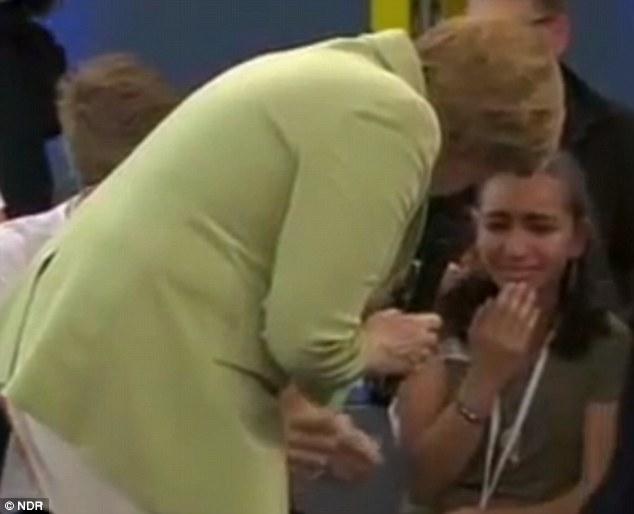 Tamno srce patokracije – Angela Merkel rasplakala djevojčicu iz Palestine