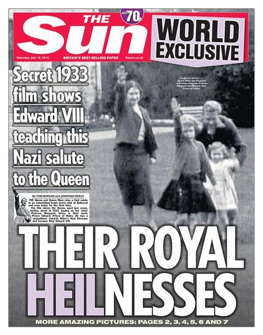 Kraljevski pozdrav ili nacistički pozdrav?