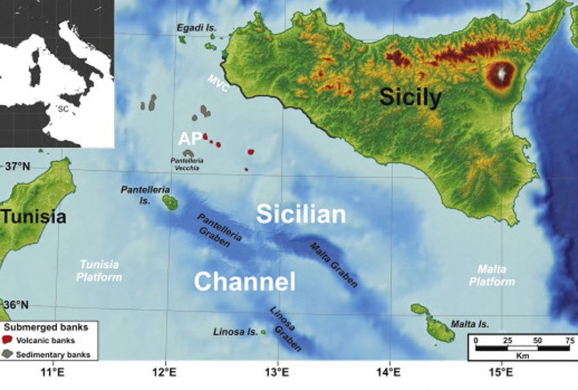Podmorje sicilije je bila plodna ravnica za vrijeme zadnjeg lednog doba, vrlo je moguće da su ljudi na tom području živjeli milenijima.