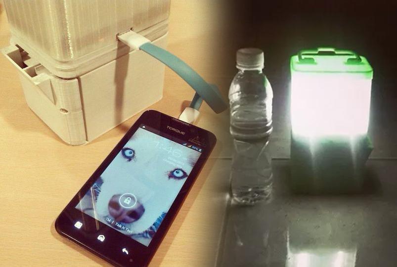 Rasvijetlite prostoriju i napunite mobitel sa čašom vode i dvije žlice soli