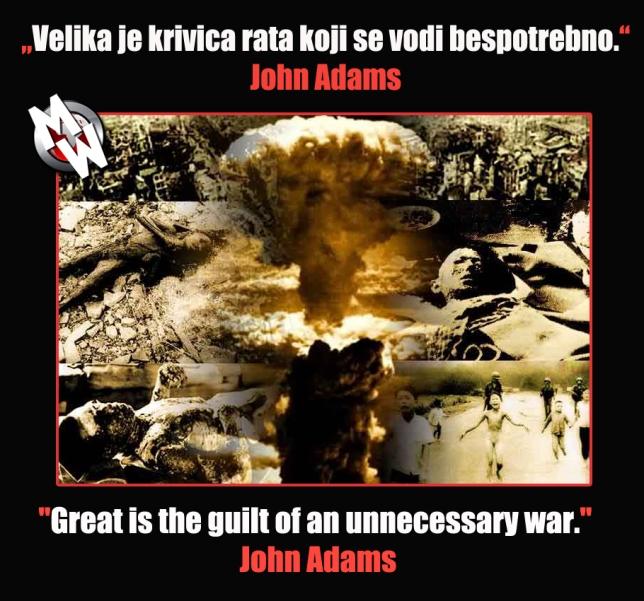 adam krivica bespotrebnih ratova