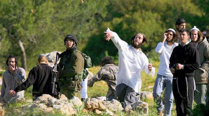 Dok Palestinci za bacanje kamenja dobivaju 20 godina robije, dotle židovski ekstremisti bacaju kamenje na sve i svakoga.