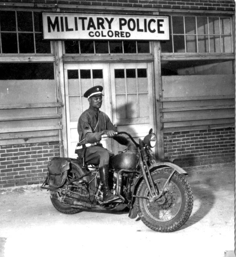 Za vrijeme Drugog svjetskog rata je postojala čak i vojna policija isključivo za crnce.