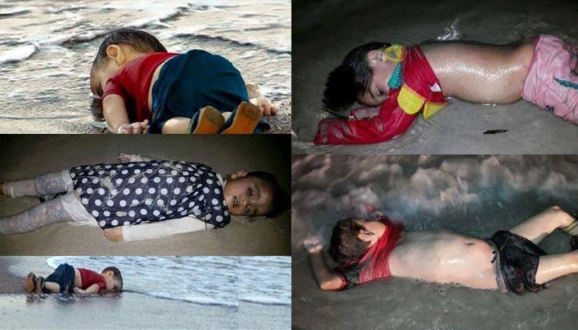 Zbog konačnog pokazivanja ovakvih slika, naš odnos prema izbjeglicama se promijenio i EU ih je počela primati.