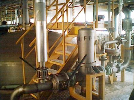 Industrijsko postrojenje za stvaranje limunske kiseline u češkoj republici.