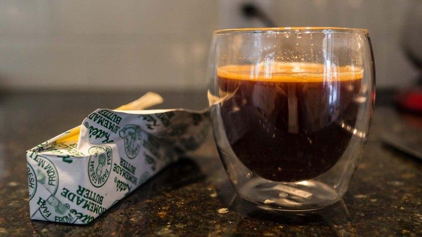 Kava s maslacem odličan način za početak dana, volite li slatko dodajte malo xylitola i uživajte u supernapitku.