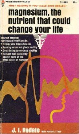 Magnezi je nezaobilazni nutrjent no malo tko na to obraća pažnju, zbog toga evo još jedne važne knjige.