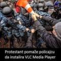 Pomaganje policiji. Al ako netko ne koristi VLC player neće skužiti foru, a ni fazon.