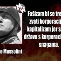 korporacije i fašizam mussolini