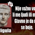mržnja kaligula