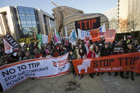 Stanovnici Glasgowa gotovo svakodnevno prosvjeduju protiv TTIP-a u zadnjih pola godine, kod nas je situacija, na žalost, potpuno drugačija.