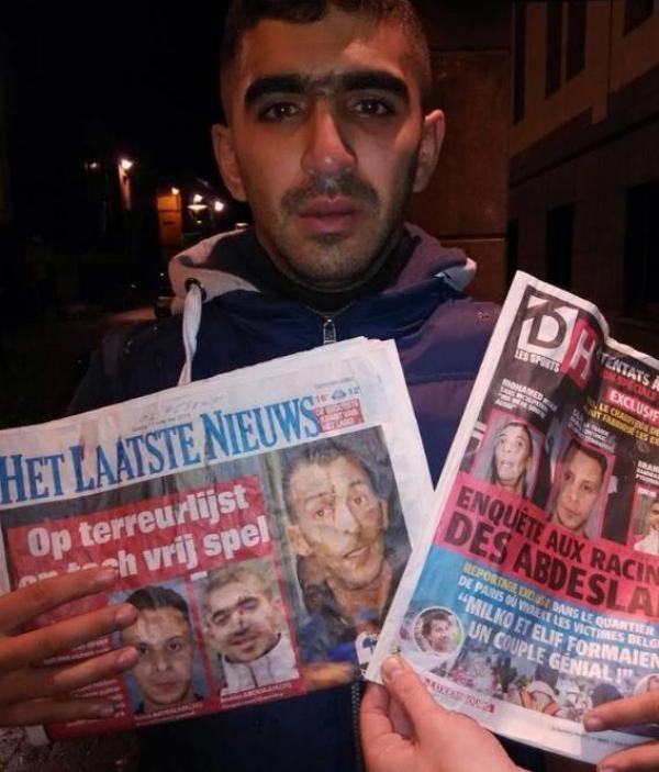 """Navodni pariški bombaš samoubojica koji se pojavio u Belgiji kaže da su slike navodnog bombaša s kojima se svi okolo nabacuju """"Brahima Abdeslama"""" zapravo njegove, Brahim Ouanda. Ovo budi sjećanja na 11. rujna kada se za 7 od 19 otmičara ispostavilo da su živi, otkrivajući pri tom činjenicu da je vlada SAD-a i Francuske potpuno pogriješila."""