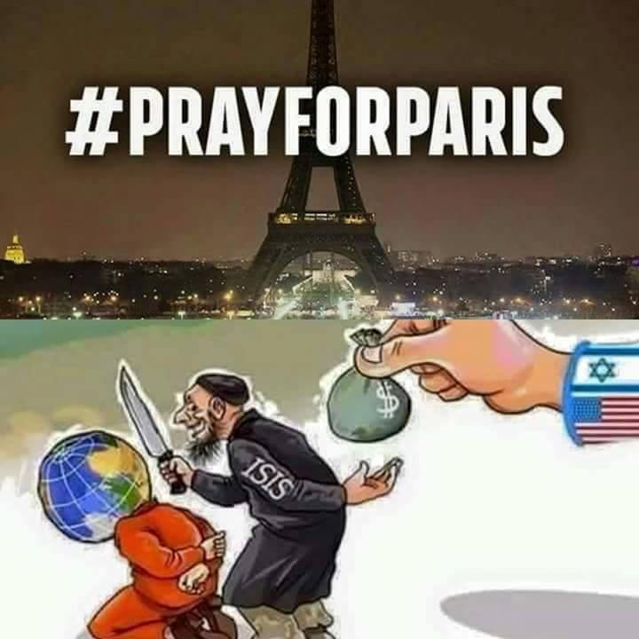 Trebaju li nam molitve za pAriz ako znamo tko je iza ISIS-a koji je preuzeo odgvornost za napade u Parizu?