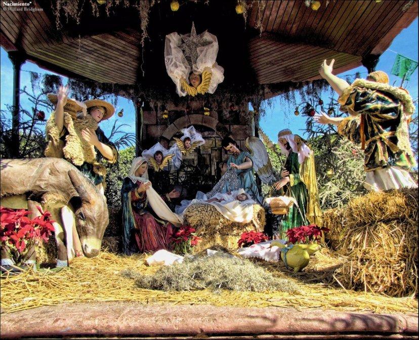 """Božićno drvce u Meksiku nije glavna stvar oko koje se vrti Božić, već su to jaslice koje Meksikanci zovu """"el nacimiento""""."""