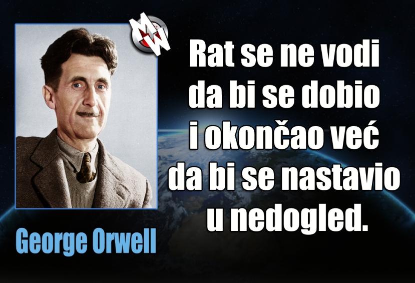 George Orwell, rat