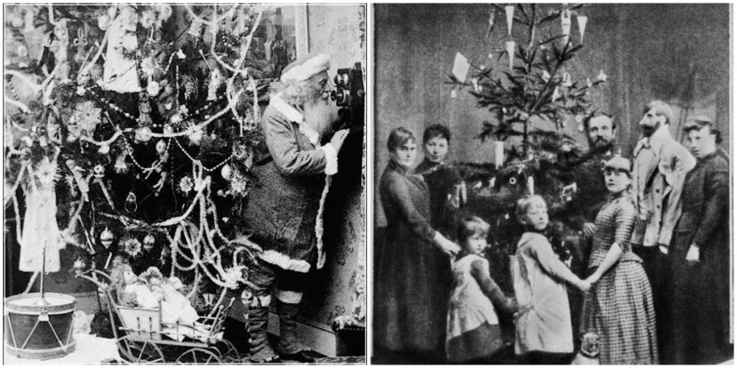 Dvorac Windsor, božićno drvce i obiteljsko okupljanje.
