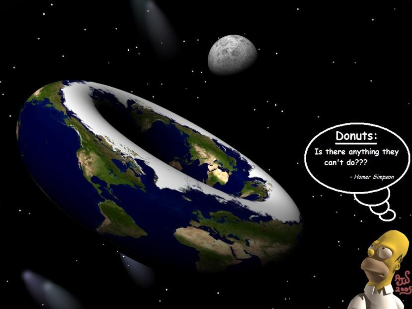 Ako doista sumnjate je li Zemlja okrugla, izgleda li kao 'donut' ili bilo koji drugi oblik umjesto da trošite svoje vrijeme uvjeravajući druge u ovu kontroverznu ideju posvetite se istraživanju i otkrite sami. U protivnom, biti ćete smatrani u najblažem obliku trolom ili potpunom ludom osobom.