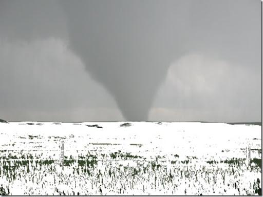 Sniježni tornado, ledena pojava na koju će se amerikanci trebati navići.