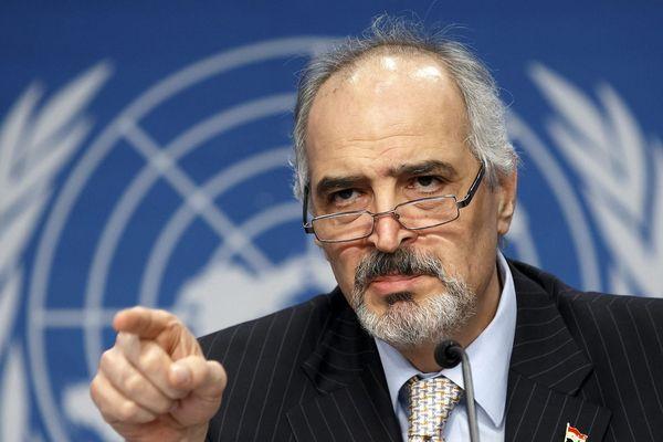 Bashar Ja'afari sirijski veleposlanik pri UN-u.