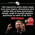 Cjepiva i depopulacija, Bill Gates