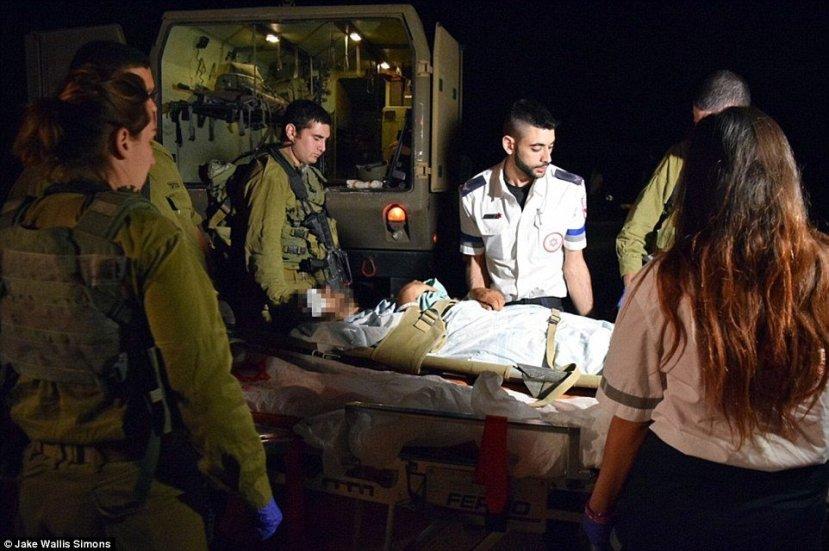 Trenutak spašavanja sirijskog teroriste od strane IDF-a i izraelskih komandosa.