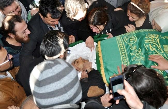 Posljedni ispraćaj Naji al- Jarfa, svajesnog novinara koji je smetao turskim vlastima.