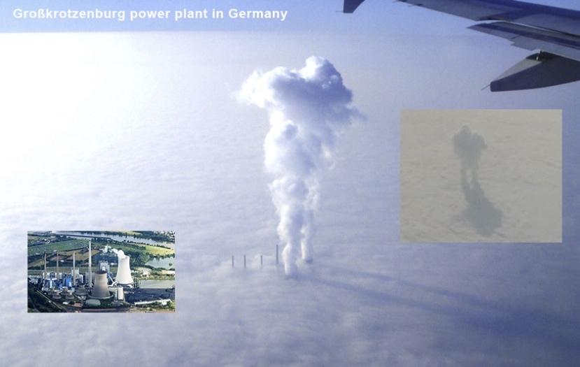 Najvjerojatniji krivac za diva u oblacima bi mogla biti isparenja i dim iz ove termoelektrane u Njemačkoj.