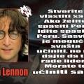 Spašavanje svijeta, Lennon