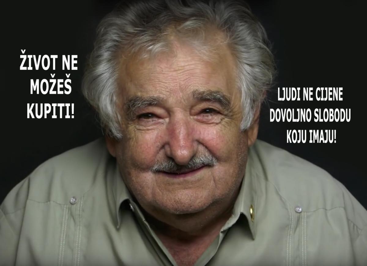 Jose Mujica poručuje: Život se ne može kupiti!