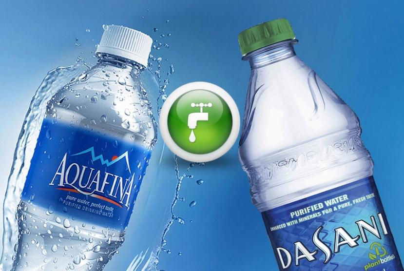 Aquafina i Dasani, dvije najprodavanije buteljirane vode, su zapravo vode iz vodovoda.