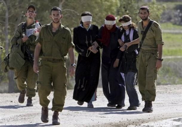 """U studenom 2008, nekoliko desetaka mladih Palesinki je uhićeno i odveženo u IDF-ovu vojnu bazu Kissufim. Iako su u javnost dospjela izvješća jedino o mučenju i batinanju ovih žena, pretpostavljamo da je bilo i vojnika kojima je trebala """"utjeha"""" na način koji je to objasnio vojni rabin."""